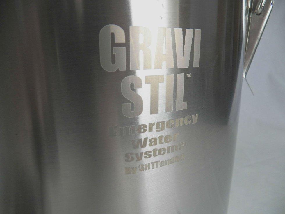 Gravi-Stil Emergency Survival Water Distiller and Water Filter