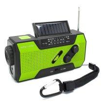 Weather Radio with Solar Crank AM/FM NOAA for emergency