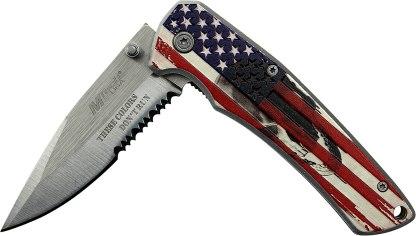 Mtech Mt-A1027P American Flag Knife