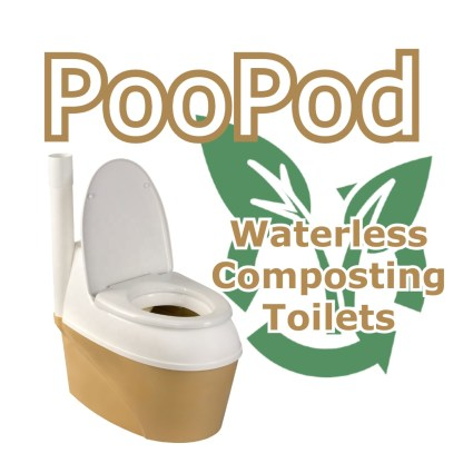 Poopod Composting Toilet