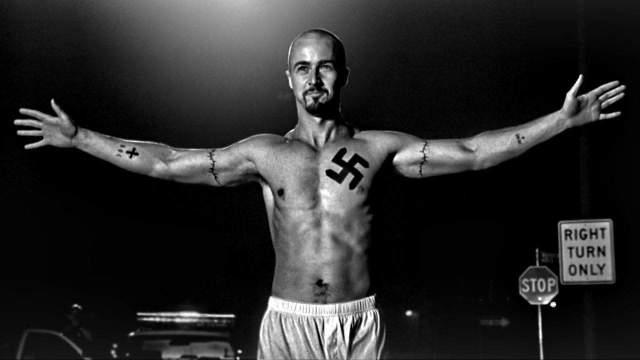 פוסטר הסרט היסטוריה אמריקאית X