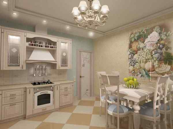Стиль прованс на кухне, фото примеров оформления, идеи для ...