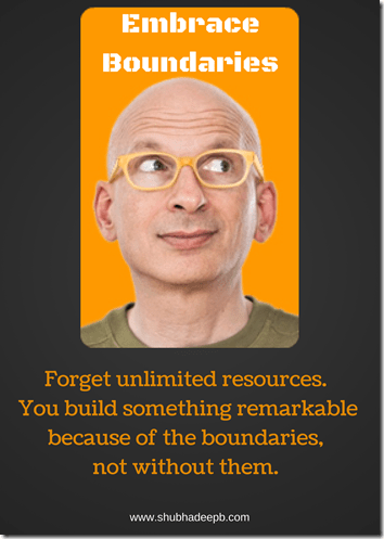 Embrace Boundaries