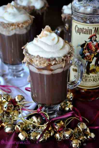 Fall Drinks time - Fall Choco-lada with a little kick!