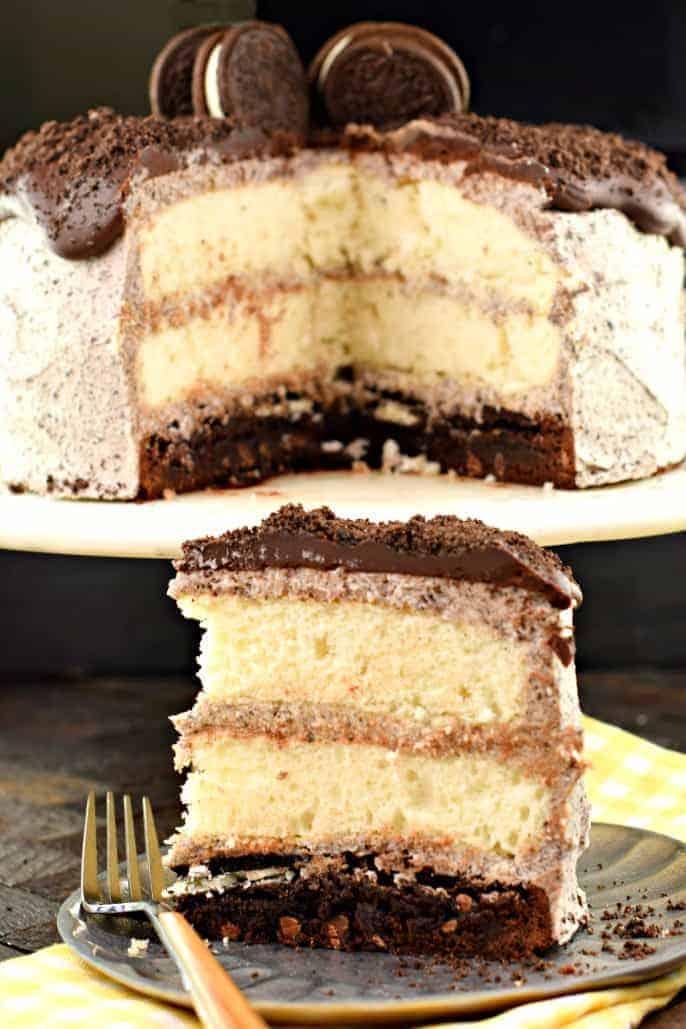 Oreo Brownie Cake Shugary Sweets