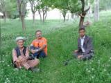 با پهلوان مهتر و حسینی حسنیار شغنانی