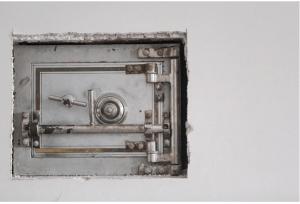 a lockable gun safe