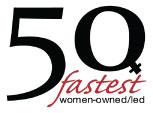50 fastest women-owned/led
