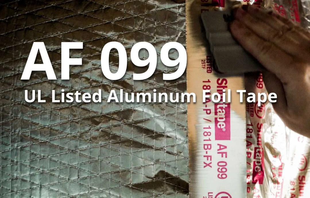 AF 099 UL Listed Aluminum Foil Tape