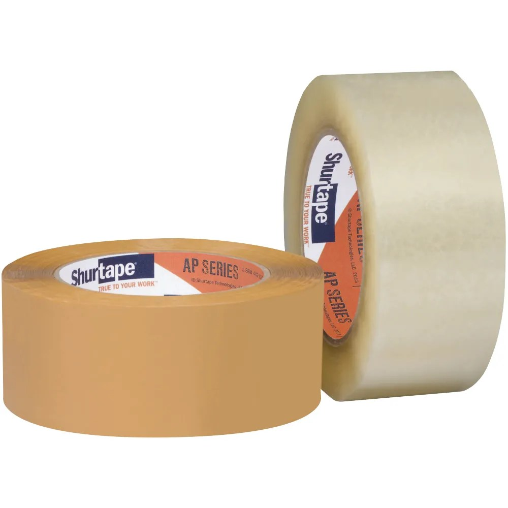 AP 401® High Performance Grade Acrylic Packaging Tape - Shurtape