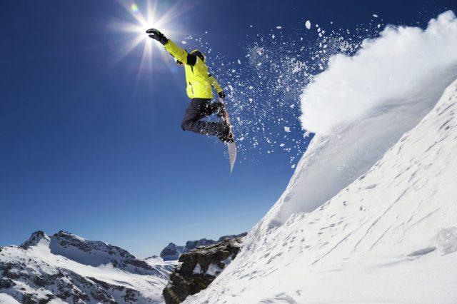 Esquiador con la sensación de atemporalidad en las coincidencias de la vida