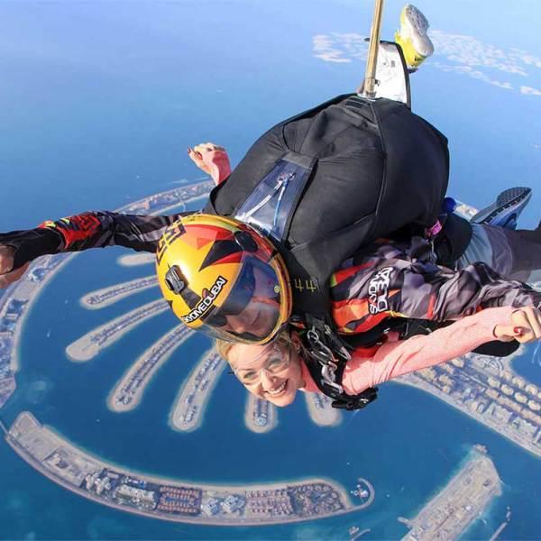 Tandem Skydiving Dubai 2