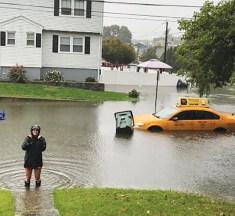 Campus Underwater: Floods in Fairfield