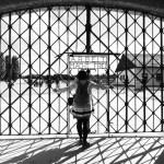 Gate to Dachau Concentration Camp