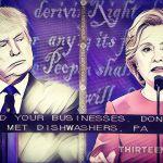在2016大選即將落幕時