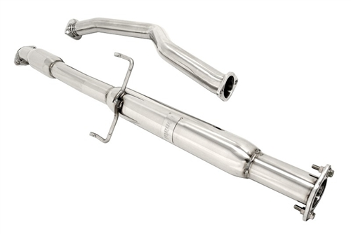 megan racing exhaust middle section pipe for 05 10 scion tc