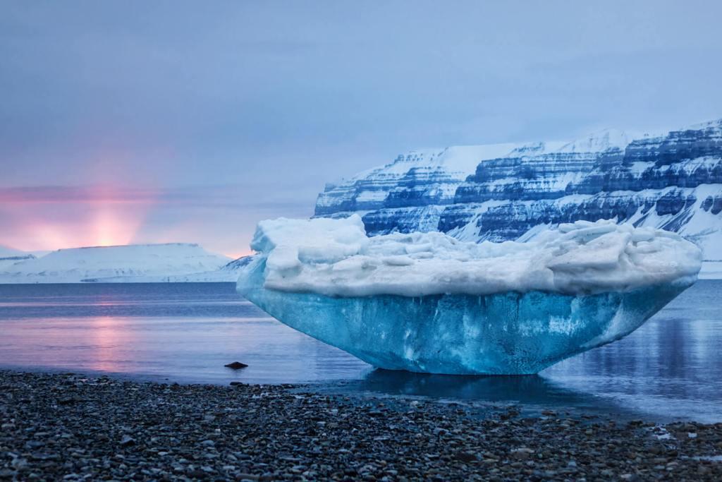 Svalbard Arctic Glacier