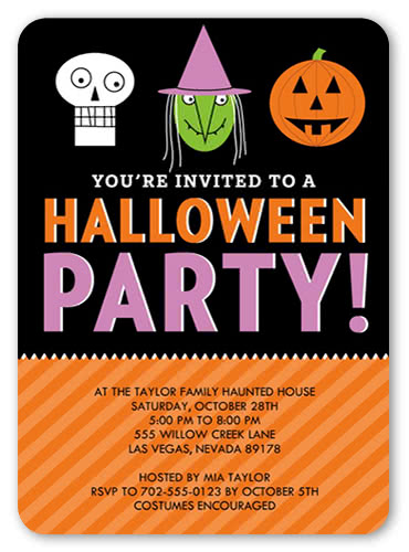Spooky gift box ribbons & medals: Creative Halloween Party Ideas For Adults And Kids Shutterfly