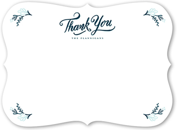 Thank You Note Wording
