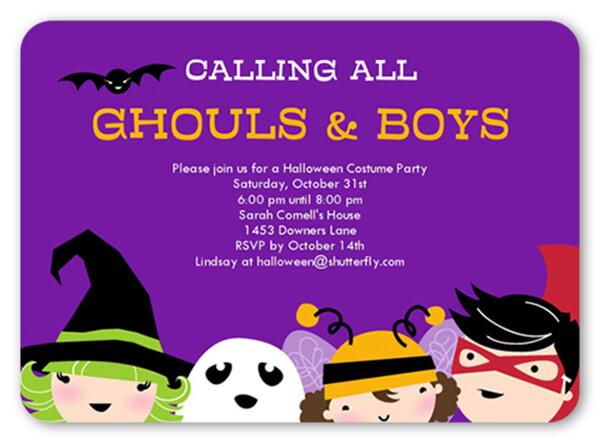 18 halloween invitation wording ideas