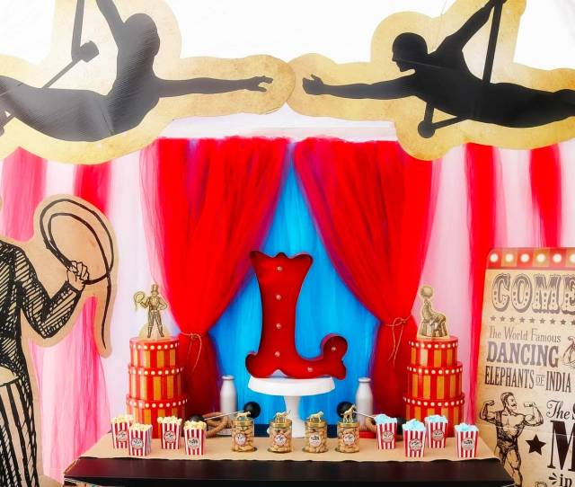 Baby Boy Baby Shower Themes Elaborate Circus