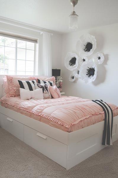 75 Delightful Girls' Bedroom Ideas | Shutterfly on Girls Small Bedroom Ideas  id=48209