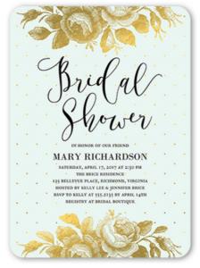 Pretty Bridal Shower Invitation Templates Theme Inspiration