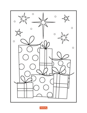coloring christmas pages # 16