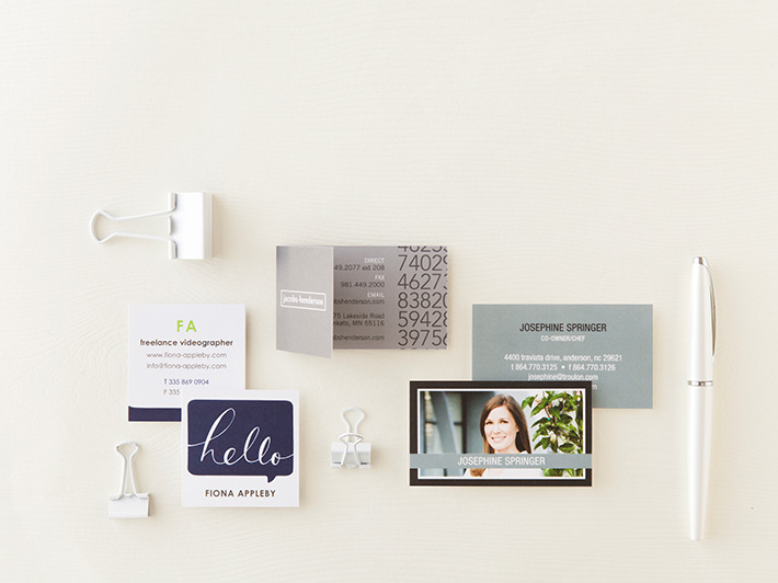What Is The Standard Business Card Size Shutterfly