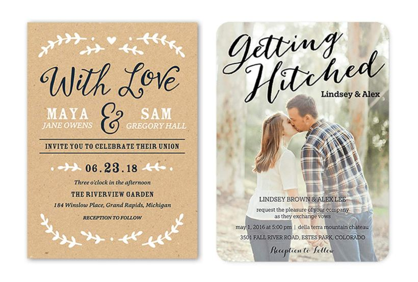 Casual And Formal Wedding Invitation Wording Example