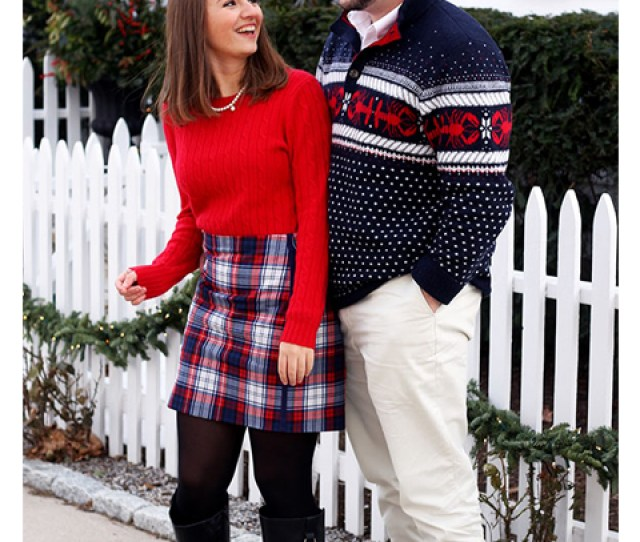 Couples Sweater Outfit Ideas  Classic Christmas Sweaters