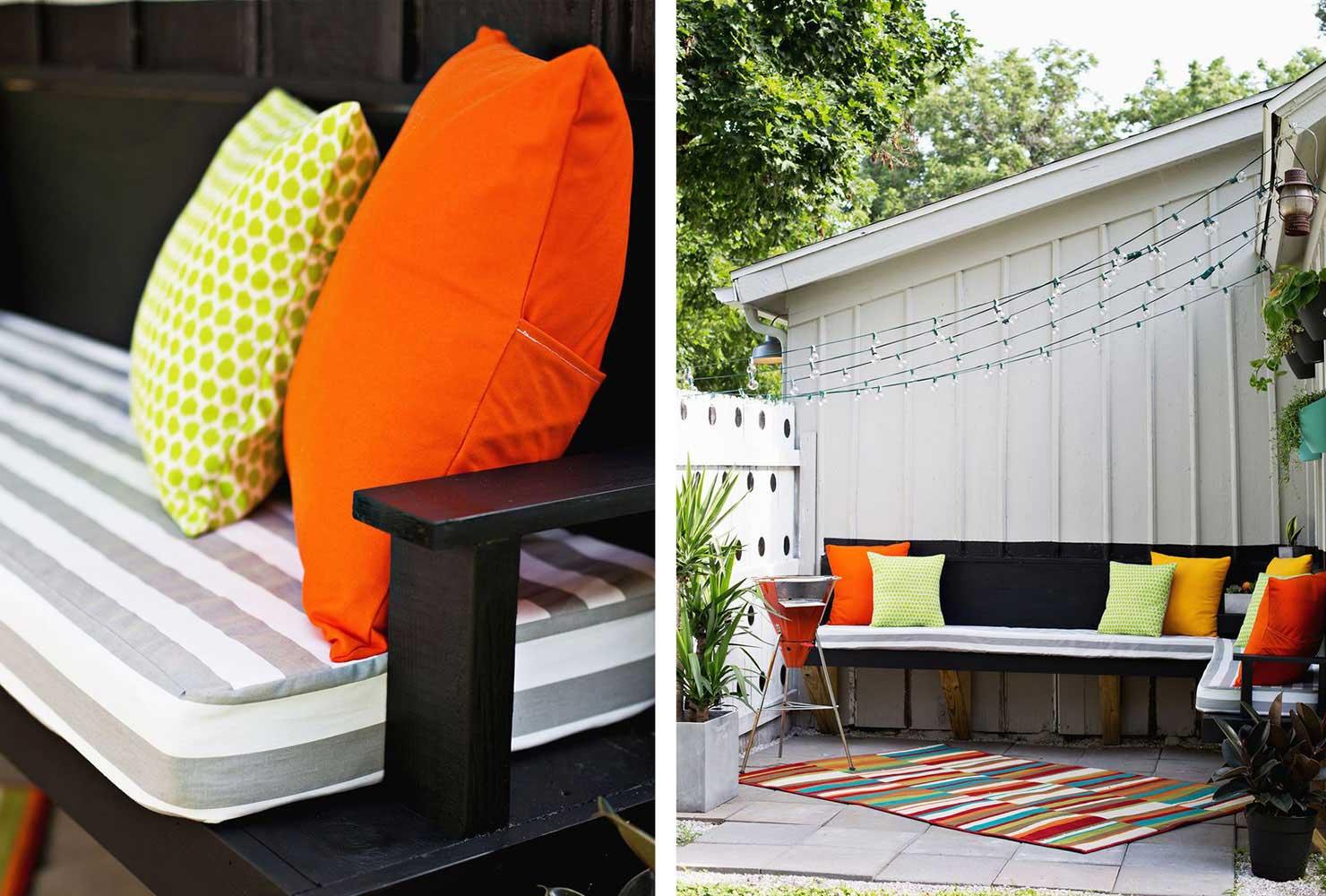 45+ DIY Patio Ideas to Brighten Your Space | Shutterfly on Diy Garden Patio Ideas id=32916