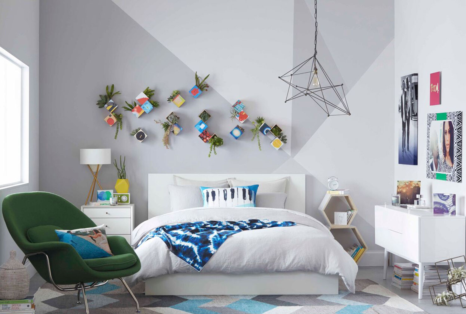 24 DIY Bedroom Decor Ideas To Inspire You (With Printables ... on Bedroom Wall Decor  id=15035
