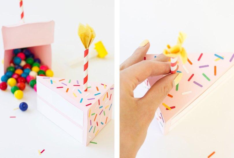 festive cake box