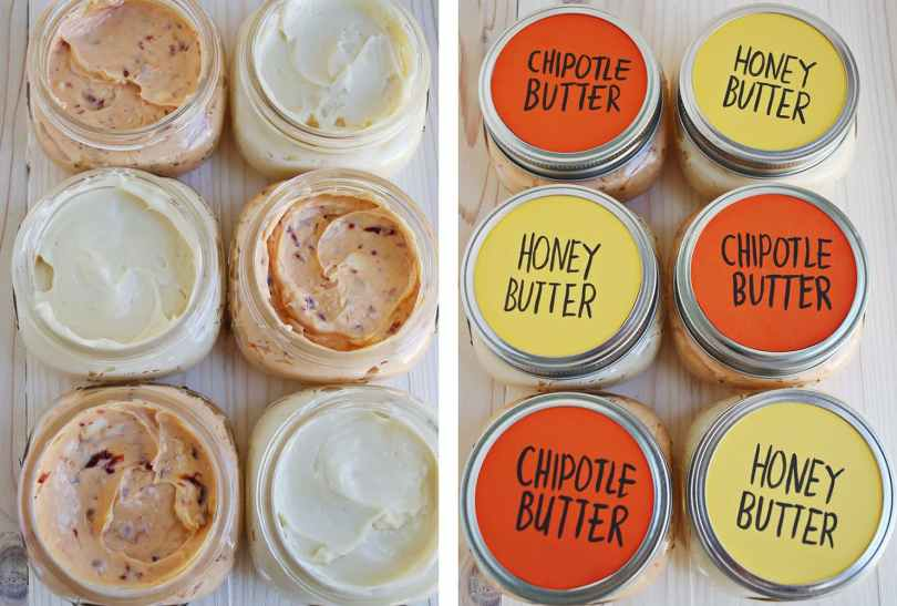 flavored butter favors