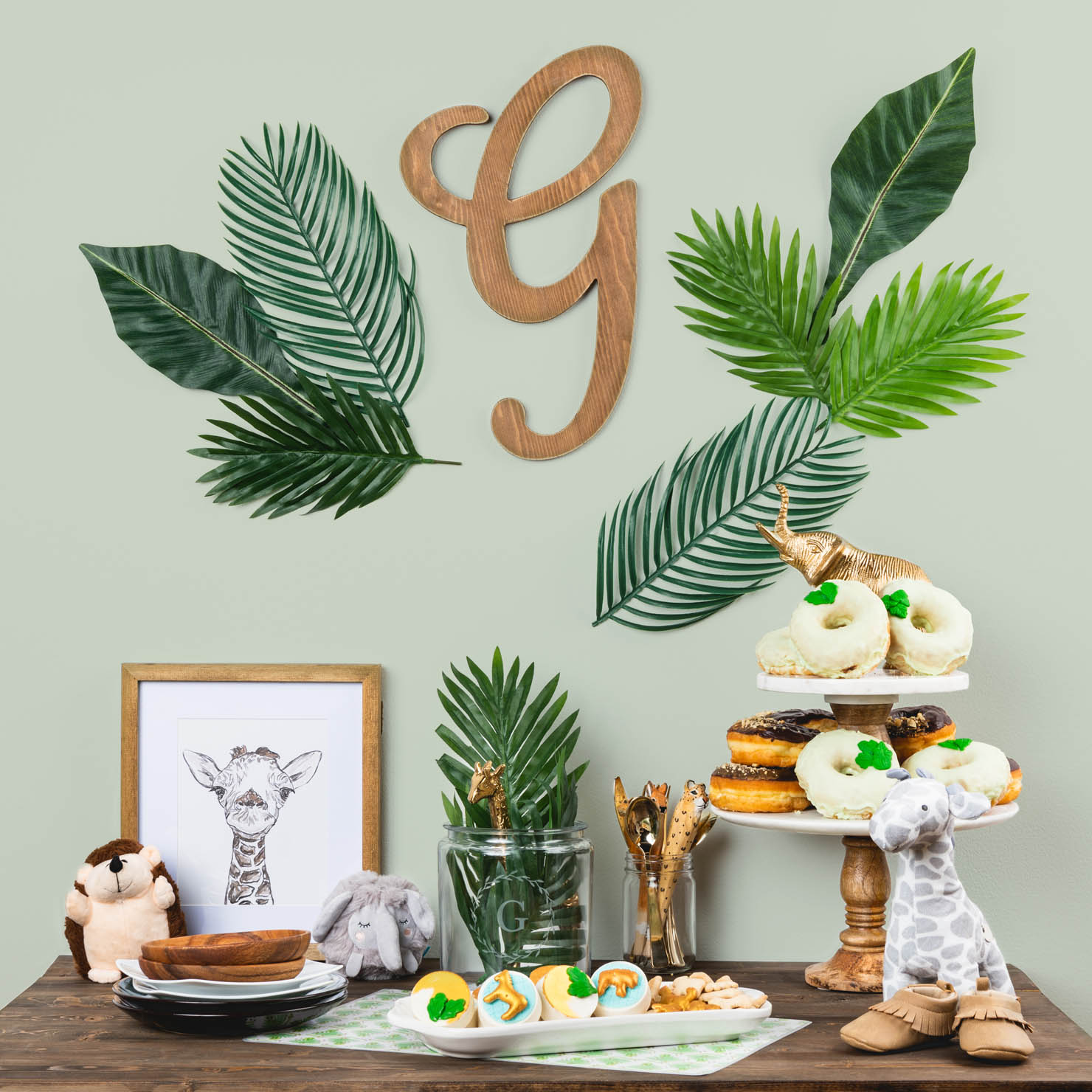 Wildly Adorable Jungle Baby Shower Ideas
