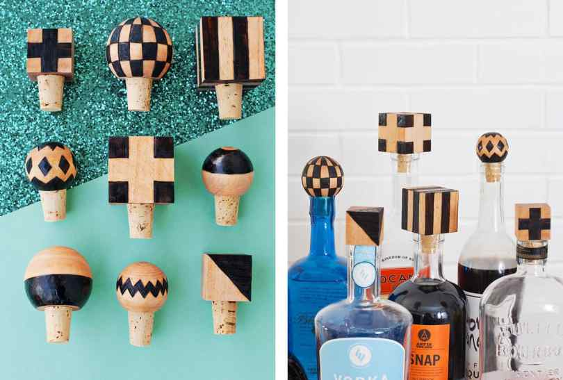 wooden bottle stoppers