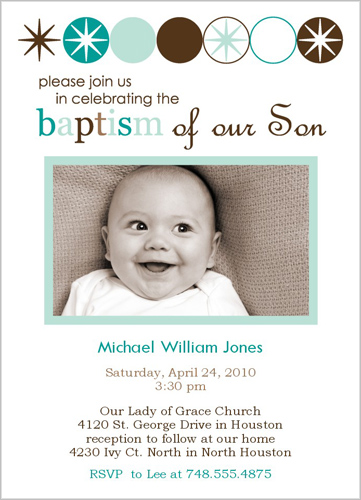 1st birthday and baptism party ideas