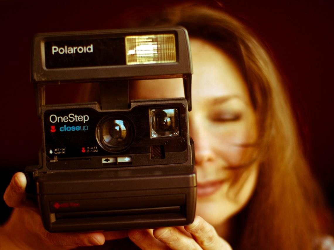 Old Kodak One Step Film Camera
