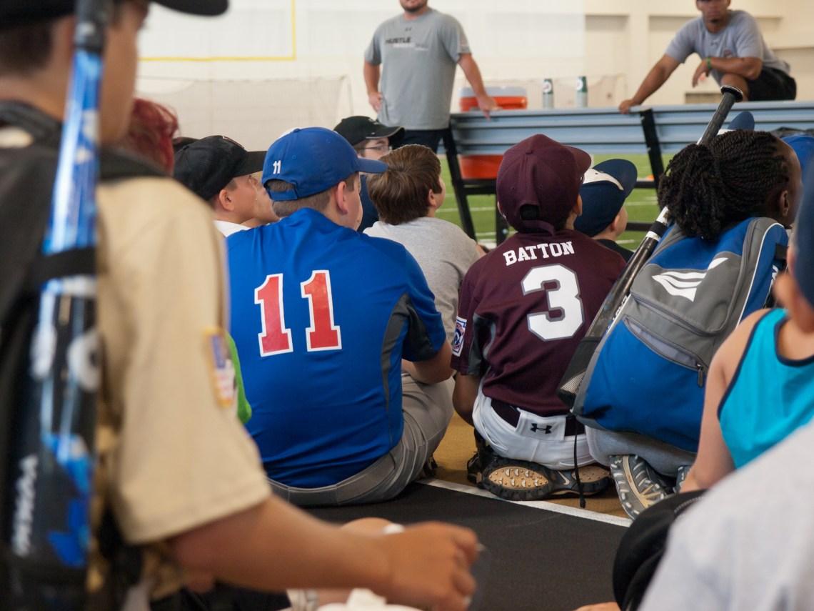 Chevy Youth Baseball Clinic - Vanderbilt University - Nashville, Tennessee - Olympus E520 / 14-54mm f2.8-3.5