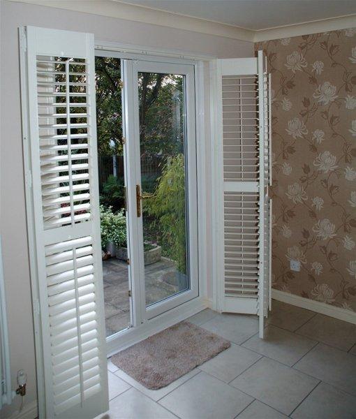 patio door shutters by shutter master