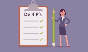 4 P model opdracht aannemen voor ondernemers