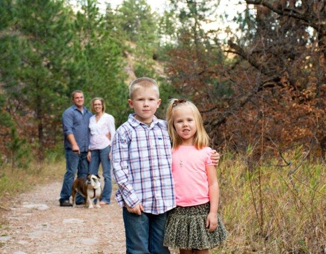 South Dakota Family Photographer Fall Little Elk Creek