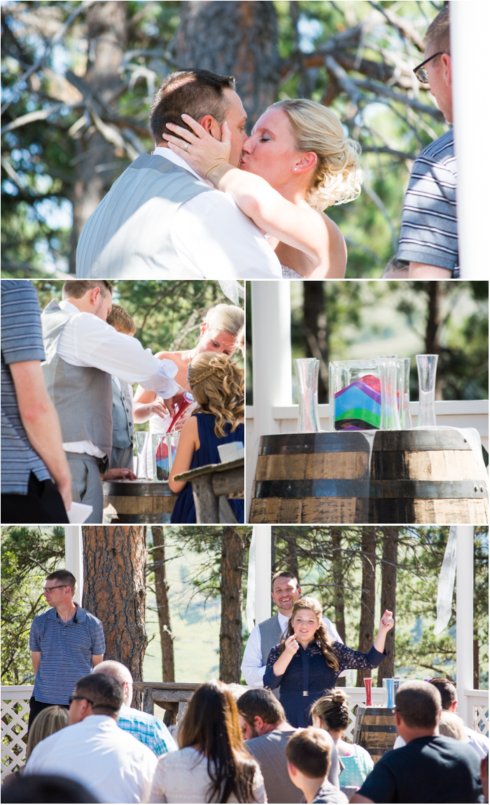 elk creek resort wedding ceremony south dakota