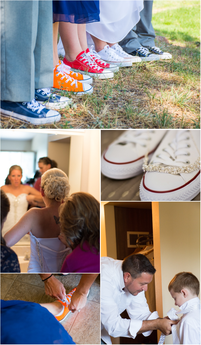 petrified forest chuck taylor wedding shoes