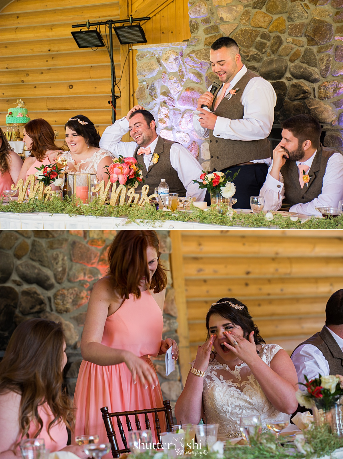 Clint-Tamra-Custer State Park Destination Wedding Pavillion Reception South Dakota