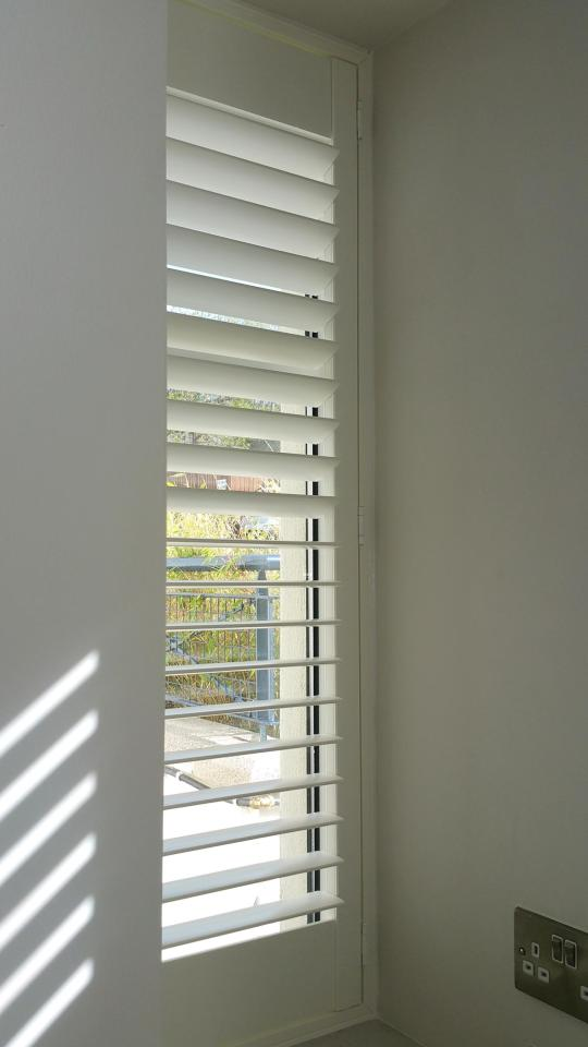 Sidelight Window Plantation Shutters