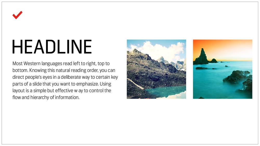 7 Mẹo thiết kế về cách tạo một bản trình bày PowerPoint đẹp, hiệu quả - Cấu trúc hiệu quả