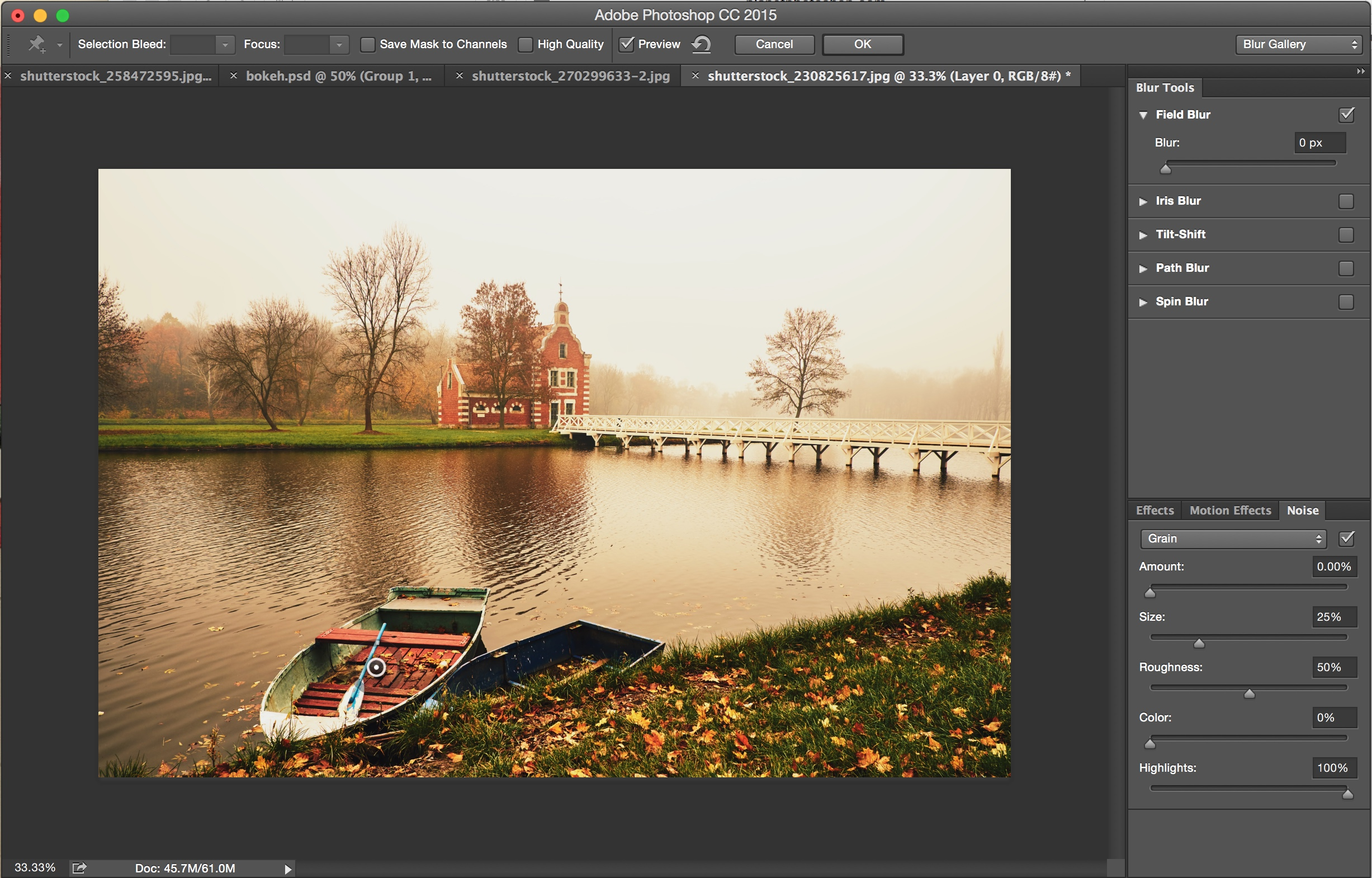 How to Add Blur and Bokeh Effects to Photos in Photoshop Bokeh SM 3