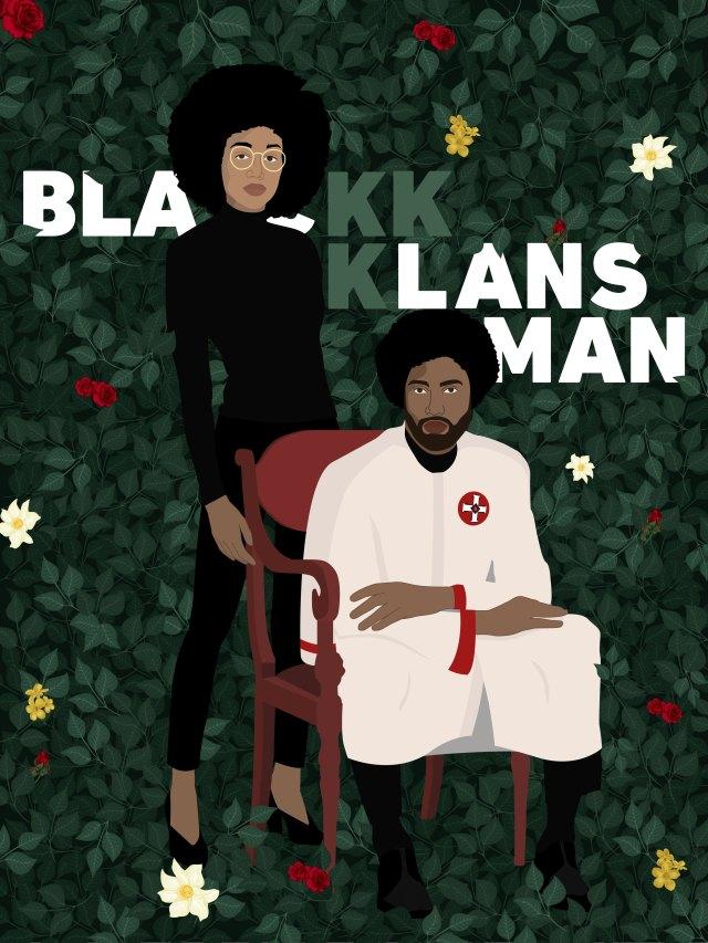 Blackkklansman concept movie poster